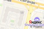 Схема проезда до компании Palace в Астане