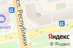 Схема проезда до компании Kaspi Bank в Астане