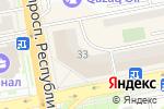 Схема проезда до компании Солнечный, КСК в Астане