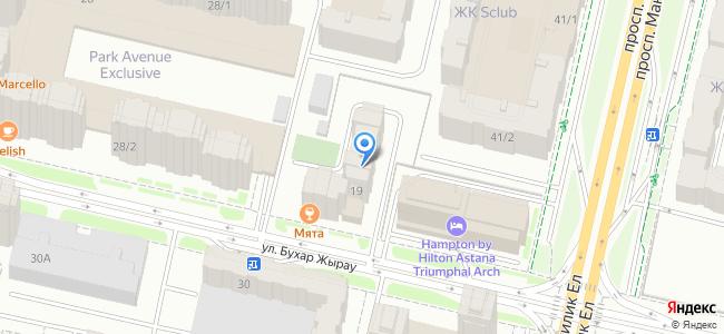 Казахстан, Нур-Султан (Астана), улица Бухар Жырау, 19