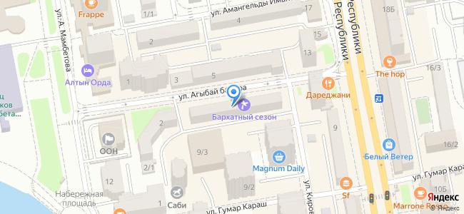 Казахстан, Нур-Султан (Астана), улица Агыбай батыра, 4