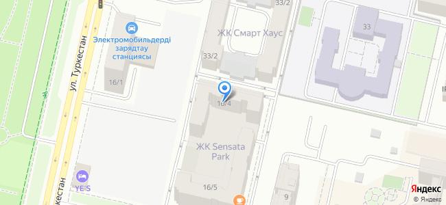 Казахстан, Нур-Султан (Астана), улица Туркестан, 16