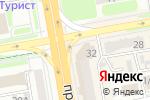 Схема проезда до компании КазМунайГаз-Сервис, ТОО в Астане