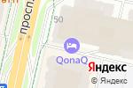 Схема проезда до компании Нотариус Шакетаева А.Е. в Астане