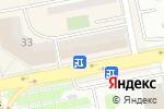 Схема проезда до компании Достык в Астане