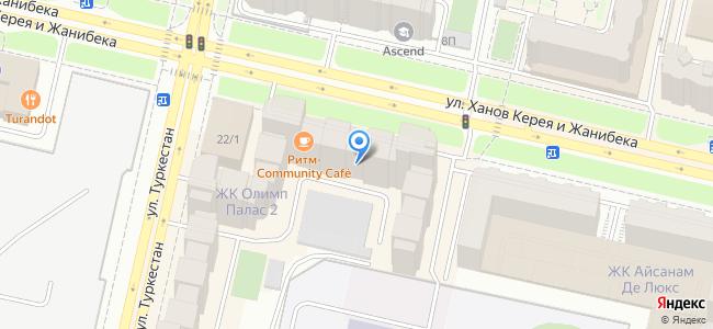 Казахстан, Нур-Султан (Астана), улица Ханов Керея и Жанибека, 22