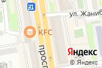 Схема проезда до компании Activ в Астане