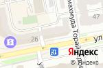 Схема проезда до компании Mgnextra в Астане