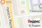 Схема проезда до компании Korova в Астане