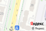Схема проезда до компании T-BAR в Астане