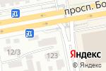 Схема проезда до компании Наурыз в Астане