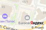 Схема проезда до компании Astana-Gold в Астане