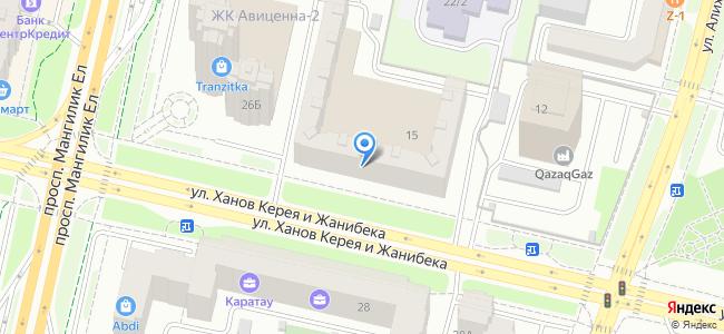 Казахстан, Нур-Султан (Астана), улица Ханов Керея и Жанибека, 15