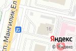 Схема проезда до компании O`16 SYRAHANA в Астане