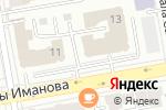 Схема проезда до компании Raihan в Астане
