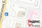 Схема проезда до компании Farhi Hall Astana в Астане