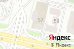 Схема проезда до компании Созвездие в Астане