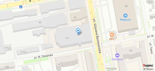 Казахстан, Нур-Султан (Астана), улица Ж. Омарова, 111