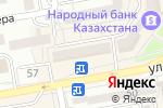 Схема проезда до компании Хадиша в Астане
