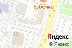 Схема проезда до компании Кыз Жибек в Астане