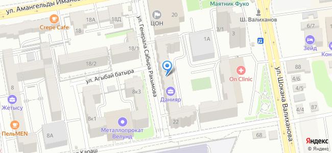 Казахстан, Нур-Султан (Астана), улица Генерала Сабыра Ракымова, 22