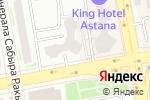 Схема проезда до компании ARG expert в Астане