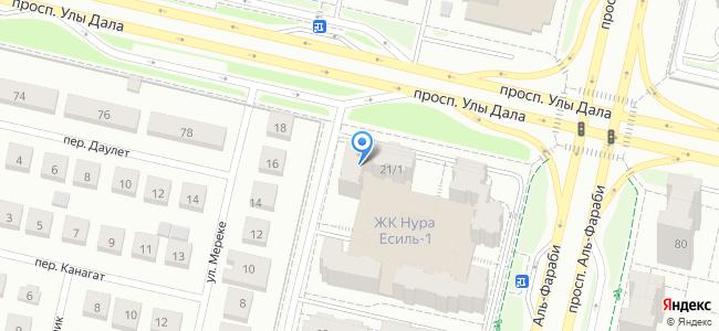 Казахстан, Нур-Султан (Астана), 38-я улица, 21/1