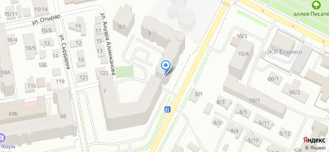 Казахстан, Нур-Султан (Астана), улица Сембинова, 9