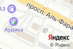 Схема проезда до компании Упак-Транзит в Астане