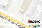 Схема проезда до компании Асан в Астане