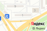 Схема проезда до компании UniNet Central Asia, ТОО в Астане