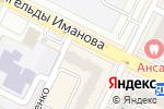 Схема проезда до компании СПЕЦМАРКЕТ, ТОО в Астане