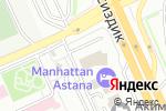 Схема проезда до компании Kamada Conference ltd, ТОО в Астане