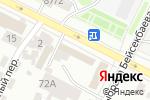 Схема проезда до компании Компания по продаже окон в Астане