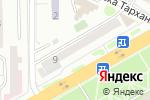Схема проезда до компании Казахмыс в Астане