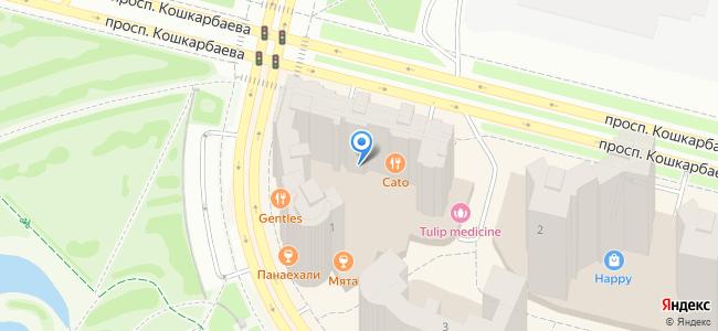 Казахстан, Нур-Султан (Астана), улица Ахмета Байтурсынова, 1