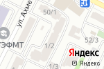 Схема проезда до компании Пластина KZ в Астане
