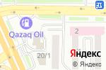 Схема проезда до компании Ай-би-дент в Астане