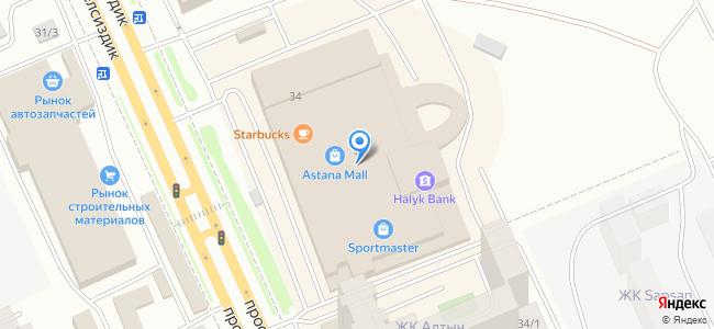 Казахстан, Нур-Султан (Астана), проспект Тауелсиздик, 34
