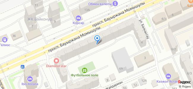 Казахстан, Нур-Султан (Астана), проспект Бауыржана Момышулы, 4