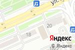 Схема проезда до компании Astana Ink Center в Астане