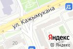 Схема проезда до компании Вижу в Астане