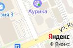Схема проезда до компании ИНВИТРО-Казахстан в Астане