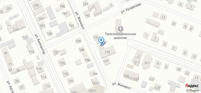 Казахстан, Нур-Султан (Астана), микрорайон Юго-Восток (правая сторона), улица Жанкент, 141