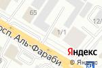 Схема проезда до компании Центр Крепежа, ТОО в Астане