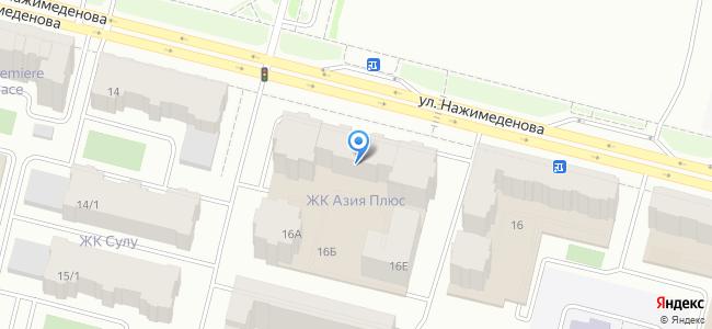 Қазақстан, Нұр-Сұлтан (Астана), Нәжімеденов көшесі, 16Б