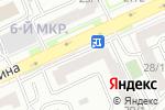 Схема проезда до компании Банкомат, Банк ЦентрКредит в Астане