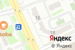 Схема проезда до компании v_podvale.kz в Астане