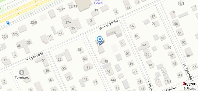 Казахстан, Нур-Султан (Астана), микрорайон Юго-Восток (правая сторона), улица Баянтау, 50