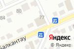 Схема проезда до компании Любимый в Астане